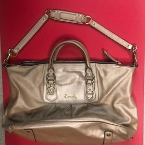Coach ASHLEY - All Leather -Love this bag!